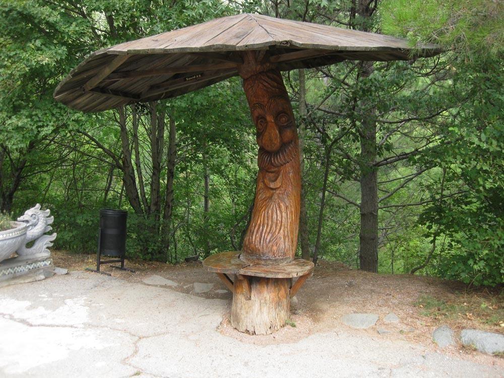 Беседка зонтик