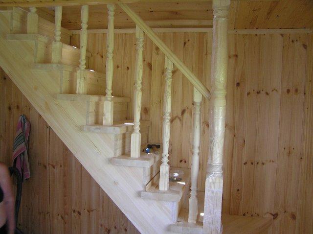Готовая лестница на мансарду