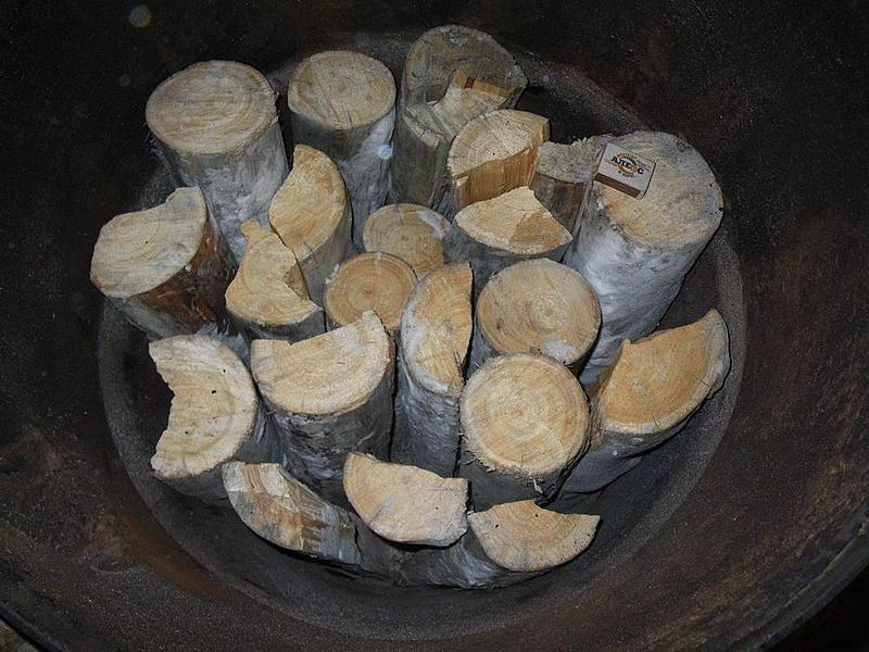 Загрузка дров