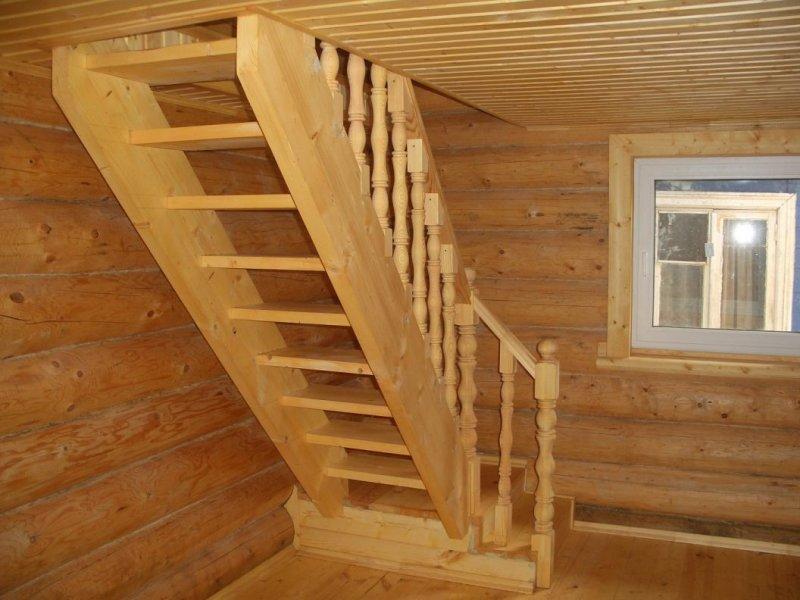 Маршевые мансардные лестницы
