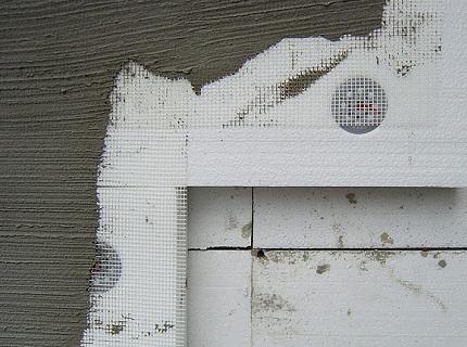 Отделка стен, утепленных пенопластом