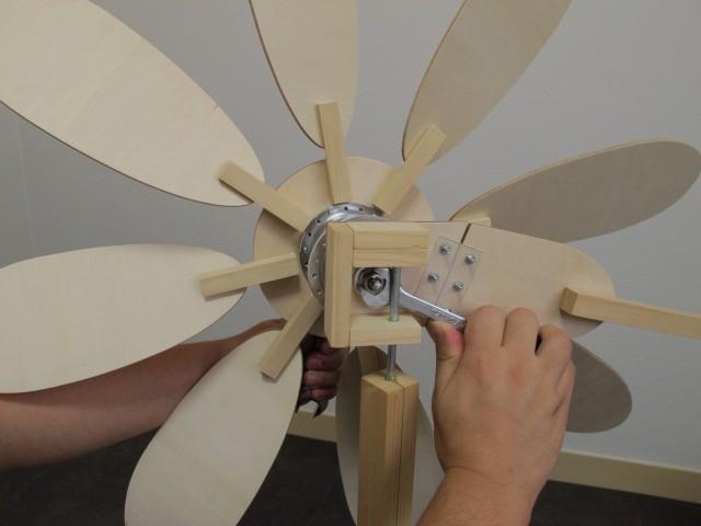 Сборка ветрогенератора