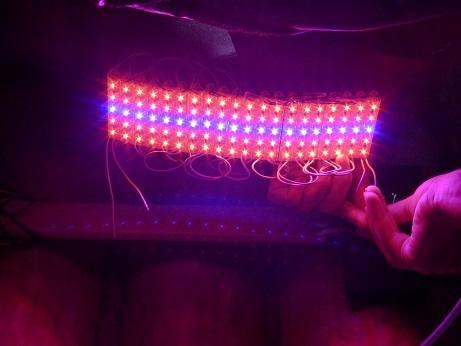 Светодиодный светильник для рассады своими руками