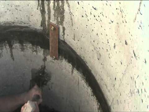 Скрепление бетонных колец