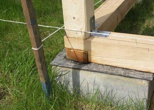 Строительство беседки из дерева. Нижняя обвязка