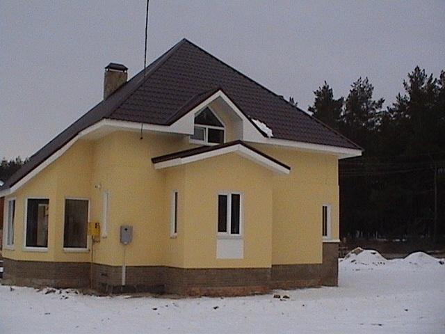 Четырехскатная крыша (шатровая)