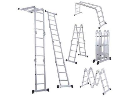 Вариации положений секций лестницы-трансформер