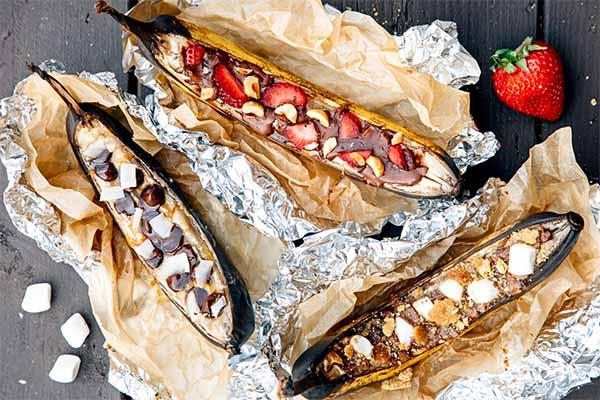 приготовить на мангале кроме шашлыка. десерты на мангале