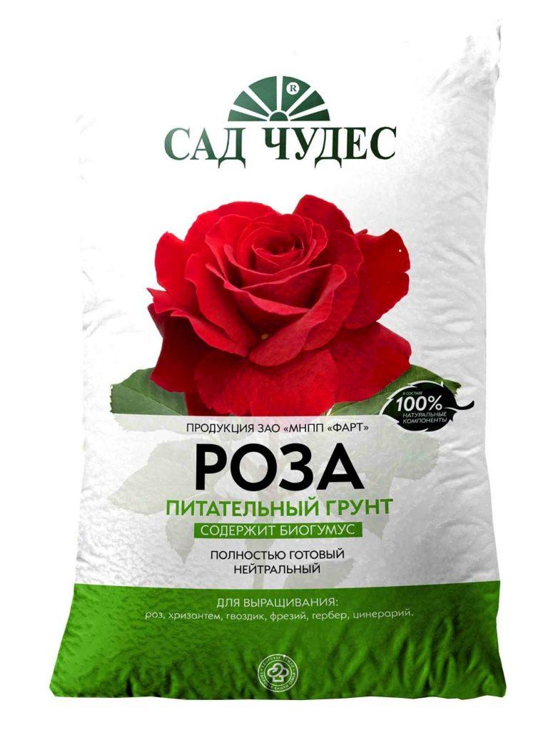 Почвосмесь для роз