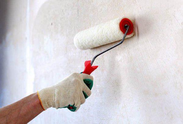 Покрасьте стену