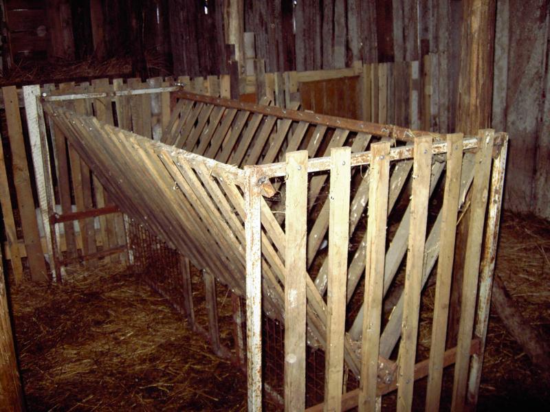 Решетка из реек