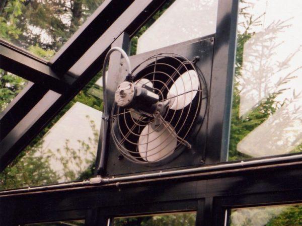 Тепличная вентиляция