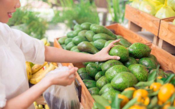 Покупка авокадо