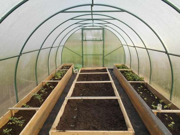 Утепленная грядка позволит получить урожай быстрее