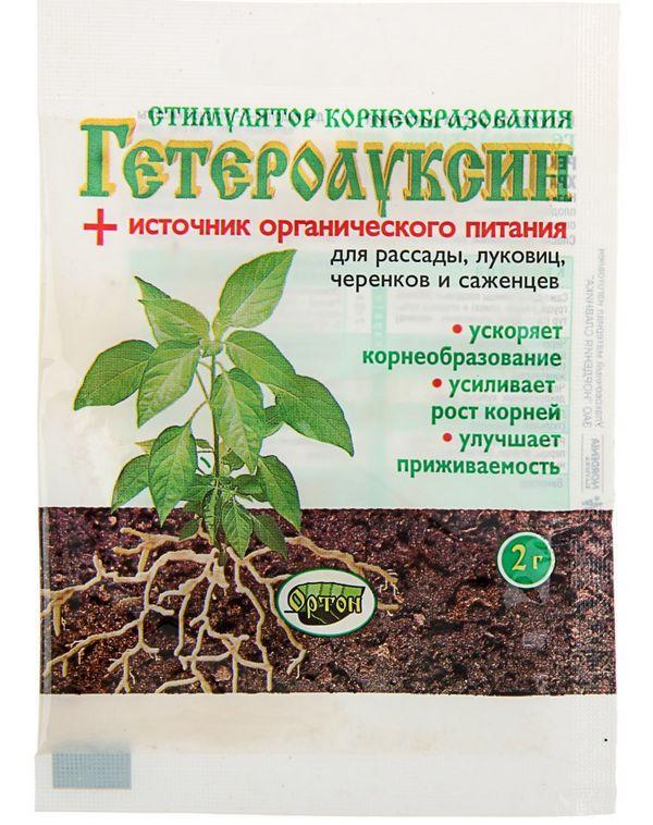 Стоит использовать гетероауксин, чтобы корни восстановились после обрезки