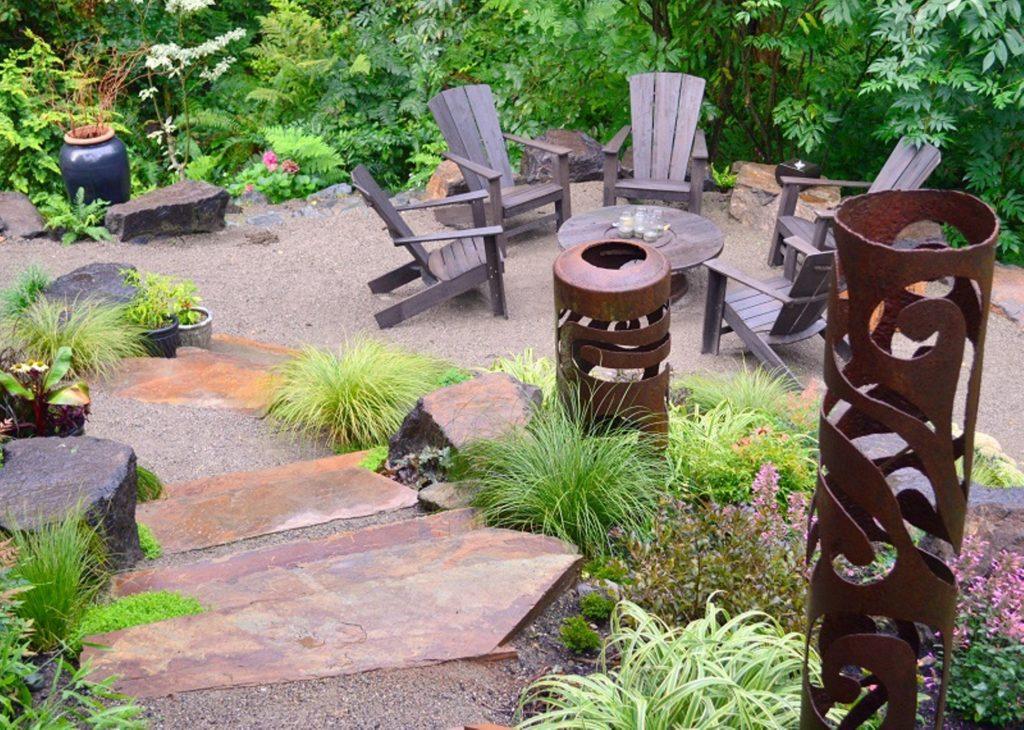 МАФ - патио, садовые камины, перголы, шпалеры, множество деревянных, металлических, керамических, каменных и других декоративных элементов