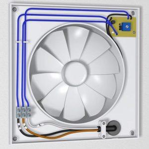 Шаг 8 – подсоединение провода на клеммы прибора