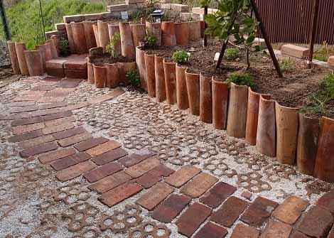 садовый дизайн дорожки своими руками