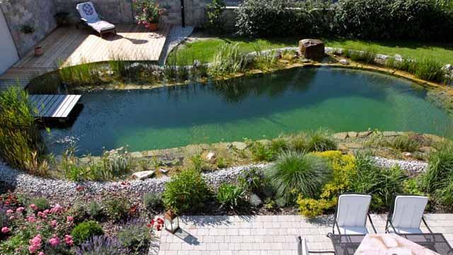 садовый пруд своими руками фото