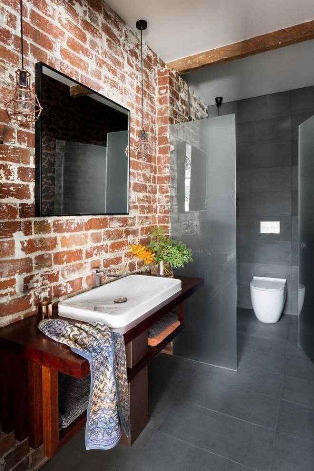 Лофт-ванная комната
