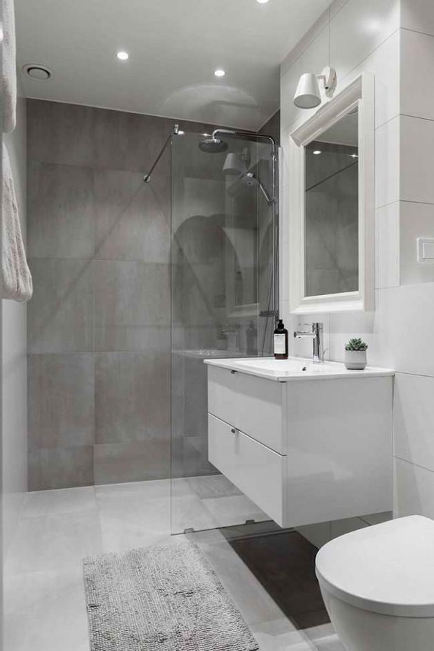 Сканди ванная комната