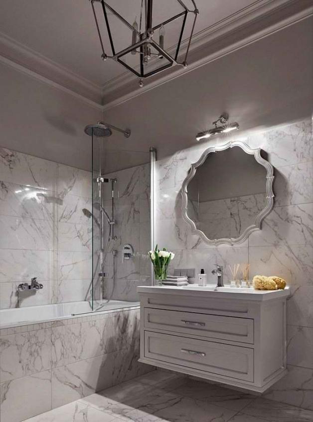 Ванная комната в стиле классика