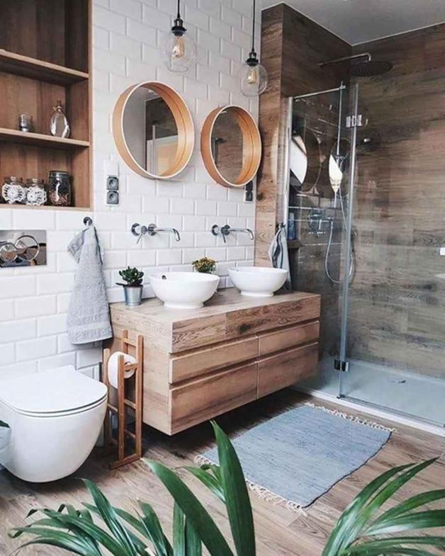 Кантри-ванная комната