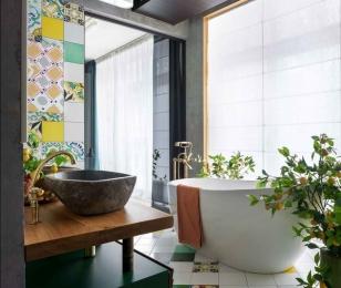 Растения в дизайне ванной