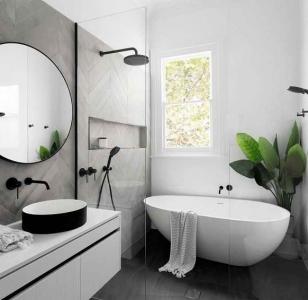Интерьер ванной согласно фен-шуй